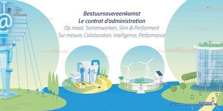 Discussie over de bestuursovereenkomst 2019-2021 - regio Vlaams Brabant tickets