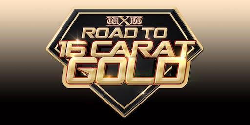 wXw Wrestling: Road to 16 Carat Gold - Bielefeld
