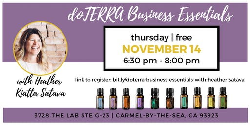 dōTERRA Business Essentials