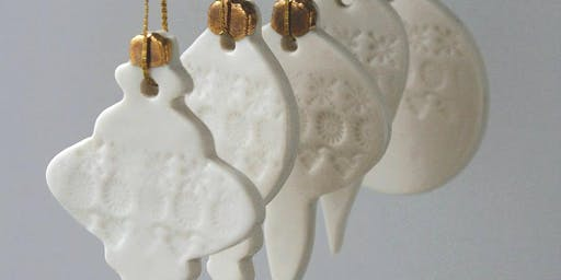 Plymouth College of Art - Ceramic Christmas Decorations (Nov/Dec 2019)
