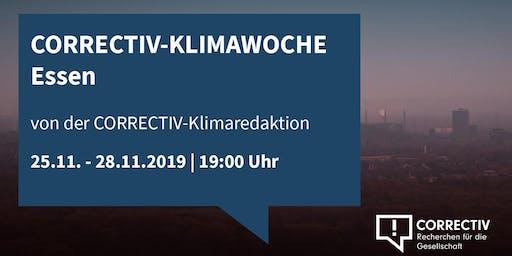 CORRECTIV-Klimawoche in Essen