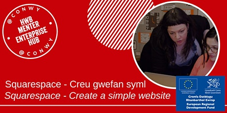 Squarespace - Creu gwefan syml / Create a simple website tickets