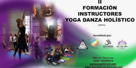 Formación de Instructores de YogaDanzaHolístico entradas