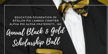 Black and Gold Scholarship Ball 2020 tickets