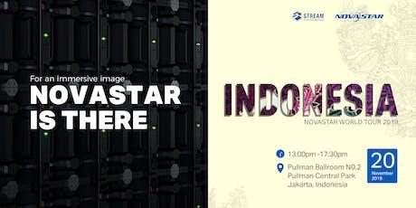 NovaStar World Tour 2019 · Indonesia tickets