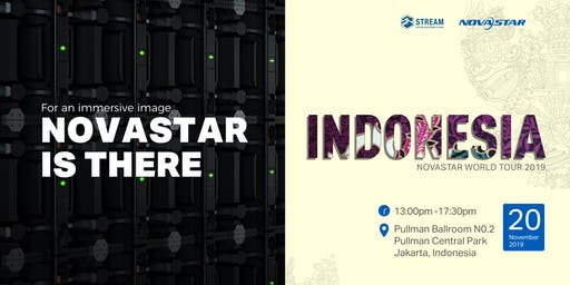 NovaStar World Tour 2019 · Indonesia