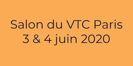 Salon du VTC Paris 2020 billets