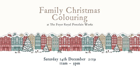 Family Christmas Colouring tickets