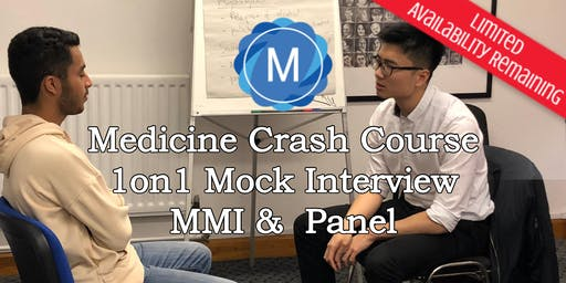 1on1 Medical School Interview Mock Practice - MMI & Panel