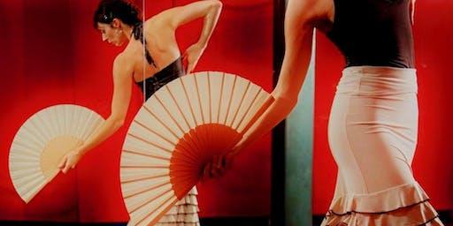 Flamencovoorstelling met Tamara Dewispelaere