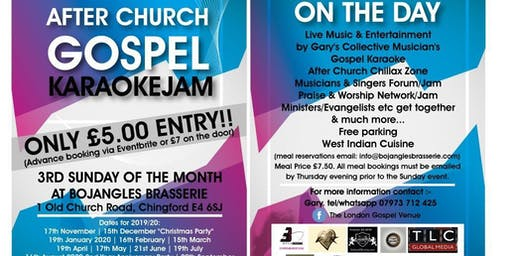 After Church Gospel Karaoke Jam