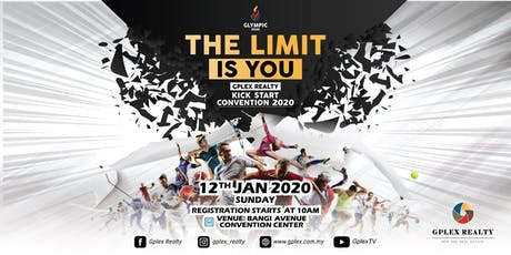"""Gplex Realty Kick Start Convention 2020 """"THE LIMIT IS YOU"""" (Selangor) tickets"""