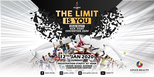 "Gplex Realty Kick Start Convention 2020 ""THE LIMIT IS YOU"" (Selangor)"