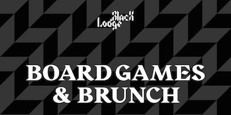 Board Games & Brunch tickets