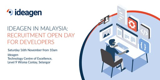 Ideagen Malaysia: Recruitment Open Day for Developers