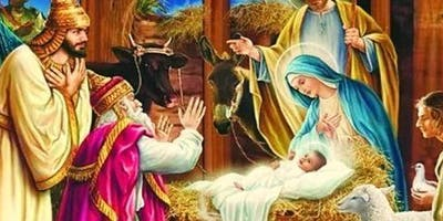 THE BIRTH OF JESUS. MONIES RAISED WILL SEND KIDS TO CHRISTIAN SCHOOLS