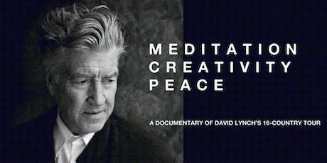 Méditation Créativité Paix - documentaire sur David Lynch billets
