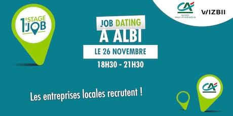 Job Dating Albi : décrochez un emploi dans votre région ! billets