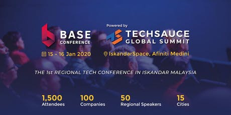 BaseConf powered by Techsauce Global Summit 2020 tickets