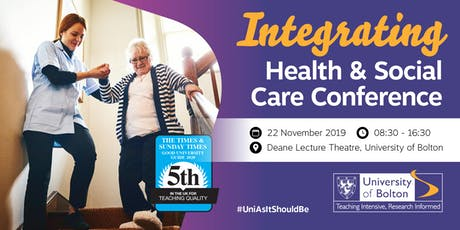 Integrating Health & Social Care Conference tickets
