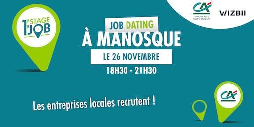 Job Dating Manosque : décrochez un emploi dans votre région !