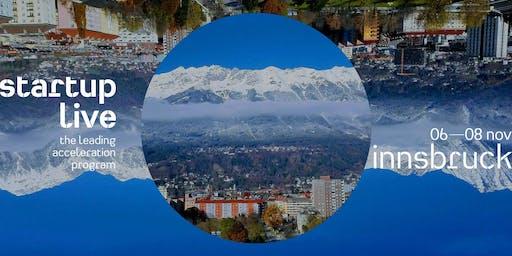 Startup Live Innsbruck — boost your startup