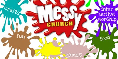 Start the New Year with a Mega Messy Church Party for Families