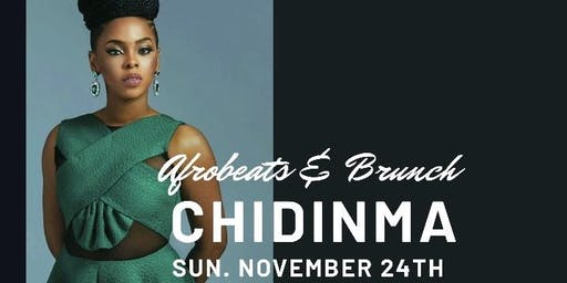 AFROBEATS &  BRUNCH WITH CHIDINMA