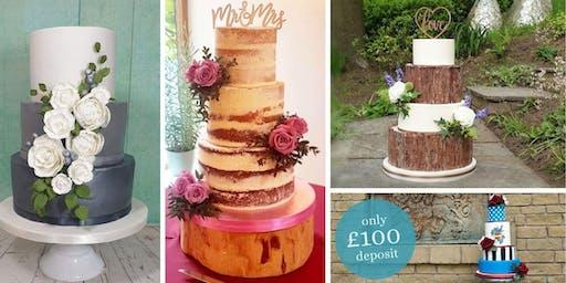 Wedding Cake Tasting & Consultation (2020)