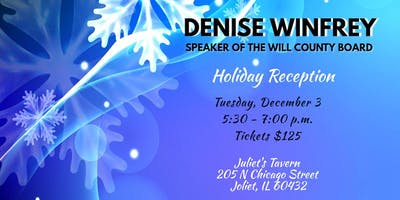 Holiday Reception with Leader Denise Winfrey