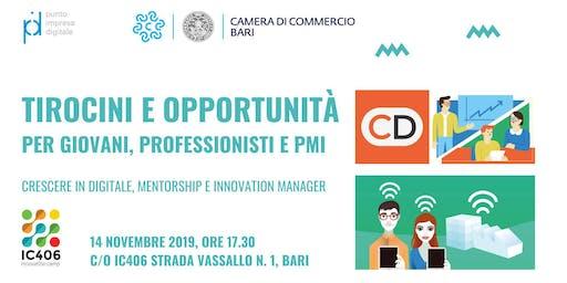 Tirocini e Opportunità per Giovani, Professionisti e PMI