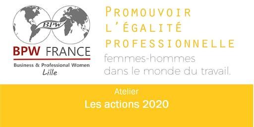 Mensuelle BPW LILLE - les actions 2020