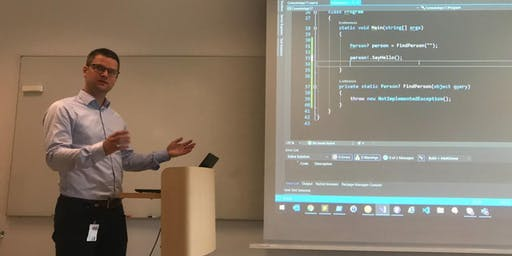 tretton37 CodeLunch: C# 8.0 and nullable reference types - Kristoffer Jälén