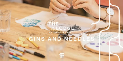 Gins and Needles: Embroidery and Gin Cocktails Workshop