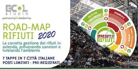 ROAD-MAP RIFIUTI 2020 biglietti