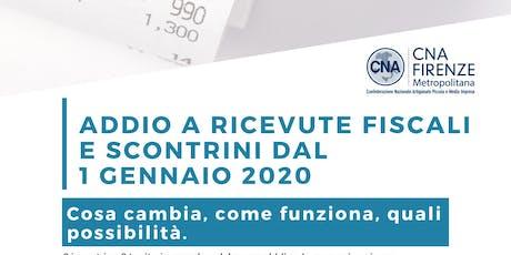 Obbligo invio telematico dei corrispettivi_Campi Bisenzio biglietti