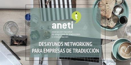 Desayuno-networking para directivos de la traducción entradas