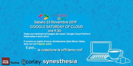Google Saturday of Cloud biglietti