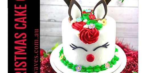 Fondant and Buttercream Reindeer Cake Class