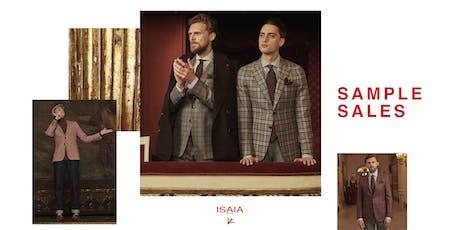 ISAIA - Sample Sales biglietti