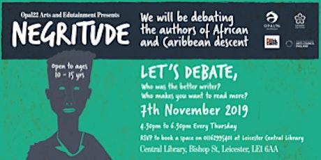 Negritude Debates tickets