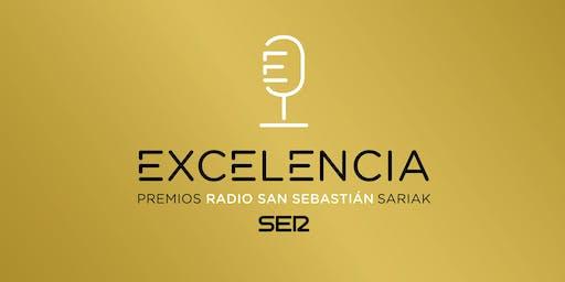 PREMIOS RADIO SAN SEBASTIÁN A LA EXCELENCIA 2019