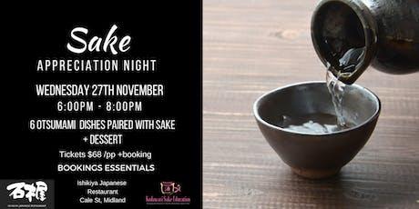 Sake Appreciation Night tickets