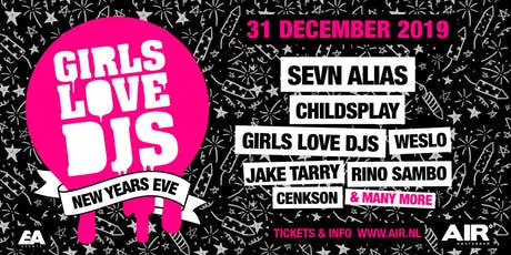 GirlsLoveDJs - New Years Eve tickets
