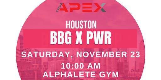 BBG X PWR at Alphalete