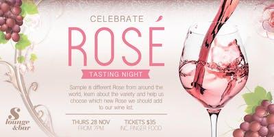 Celebrate Rose Tasting Night