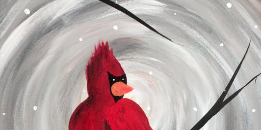 Lone Cardinal at J. Dublin's