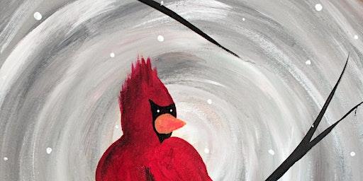 Lone Cardinal at Danny Boys