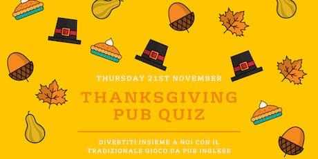 Thanksgiving Pub Quiz biglietti