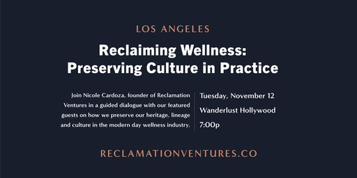 Reclaiming Wellness: Preserving Culture in Practice